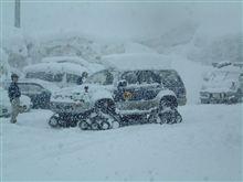 今日は雪国の宅急便