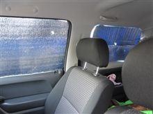 車中泊用目張りだよ。