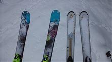 晴天スキー@めいほう その3