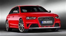 2013 Audi RS4 Avantが公開に!!