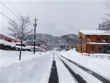 雪見温泉への道