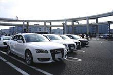 Audi大黒オフ参加'12.02