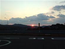 ♪遠き山に日は落ちて