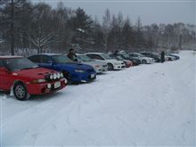 長野の雪山