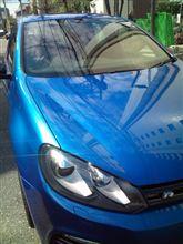 今年初の洗車・・・