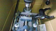 クラッチレリーズフォークの改造・・・