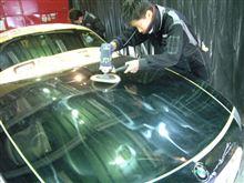黒いお車ほどガラスコーティング