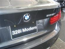 新型BMW3シリーズ 328i をチラット見てみる ☆