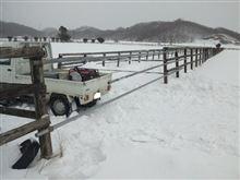 牧柵ゲート作り