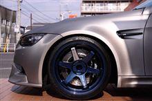 VOLK RACING TE37TTAのMAG BLUEカラー限定品っ!