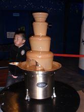 チョコの滝