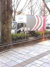 佐川急便のカラートラック