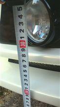 my次男ソアラSC430の    アーティシャンフロントバンパーの  フォグランプ位置。