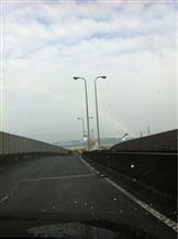虹が出てマスね~