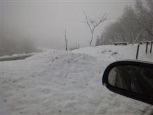 雪山来ました…