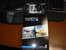 車載カメラ Go Pro HERO2 届きました。