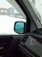 積雪となりました。