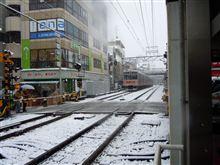 今年2回目の積雪・・・