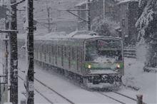 昨日の大雪...