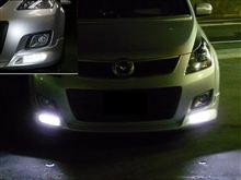MPV 23T にアドミレション LEDデイライトを 加工取付