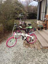 折りたたみ自転車(っ`∀´*)