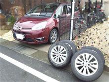 タイヤ交換と洗車と車内掃除と大忙し!