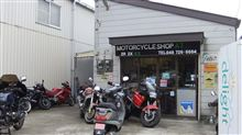 バイク屋さんに行ってきました