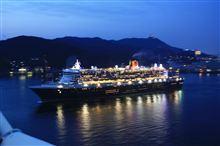 クイーン・メリー2 長崎に寄港