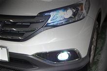 新型CR-V (RM1/RM4) オールインワンHID装着OK!