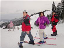 '12.01.15 家族でスキー