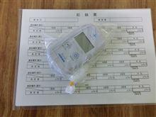 埼玉県南某市内某所の空間放射線量を測ってみました。