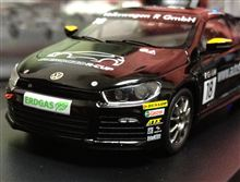 1/43 Scirocco R-Cup 2011レースカー、欲しい人~?