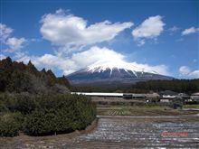 今日の富士山、 えぇ、、パクリっす (w