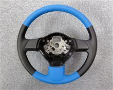 ★鮮やかなブルーで!VW Polo Comfortline ステアリング加工★
