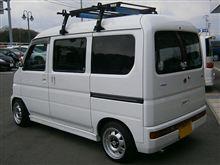久々の洗車〜WAX作業