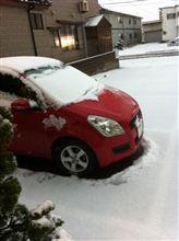 また雪、もう勘弁して〜。