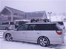 今シーズン最初で最後の?スキー場(岩手高原2012)