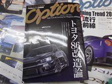 『OPTION 5月号』にランエボ掲載中♪&昨日はボスの誕生日!!