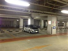 本日は145台ある駐車スペースを1台で貸し切り(*^_^*)