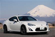 ハチロクには富士山が似合う…