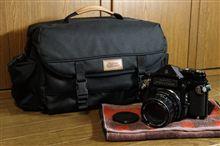 ペンタックス67用のカメラバッグ