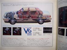 レアで懐かしい86年10月版のデボネアV前期型カタログです♪