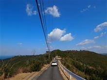 西山ピクニック緑地への道