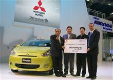タイ仕様 ミツビシ ミラージュ 現地 の レンタカー会社 が 200台 大量 導入・・・・