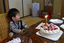 息子ちゃん 2歳の誕生日!そして桜の巨木!!