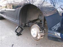 タイヤを交換しました