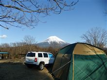 冬キャンプ2&お花見ツー