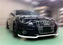 Audi S4/A4S-LINE向けエアロ開発中!