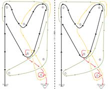 バトルジムカーナ2012Rd.1のコース図