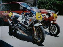 88'NSR250SPとNSR50